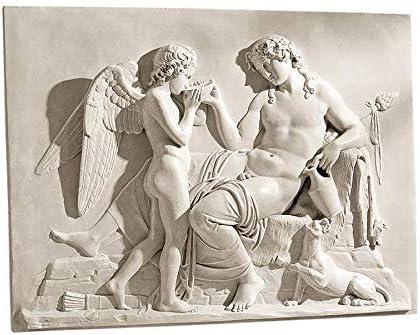 Design Toscano Eros and Dionysus High Relief Frieze Sculpture