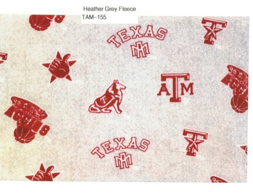 Texas A and M HEATHER GREY University Super Soft Collegiate Classic