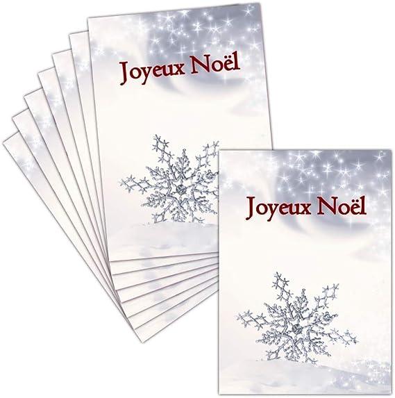 Toga PWP16 Joyeux No/ël Bloc de 18 Cartes Postales Papier Rouge// Vert// Blanc 15 x 10 x 0.1 cm