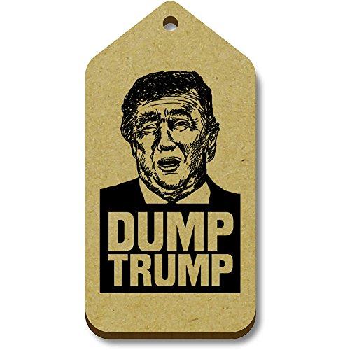 Azeeda Retrato' Trump Regalo X 34mm Etiquetas 'donald equipaje tg00043917 66mm 10 ISr4I