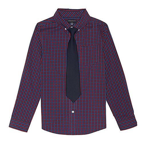 Check Shirt Tie - 3