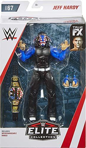 Ringside Jeff Hardy (Chase Variant) - WWE Elite 67 Mattel Toy Wrestling Action Figure