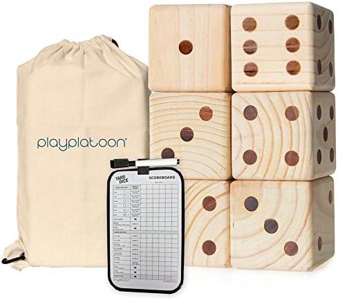 Play Platoon Lawn Dice Scoreboard