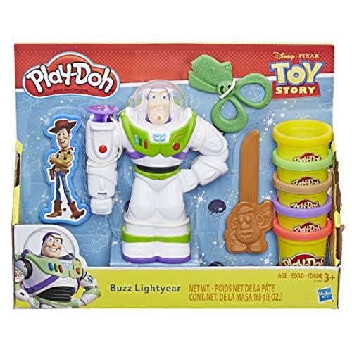 Conjunto Buzz Lightyear, Play-doh, Multicor