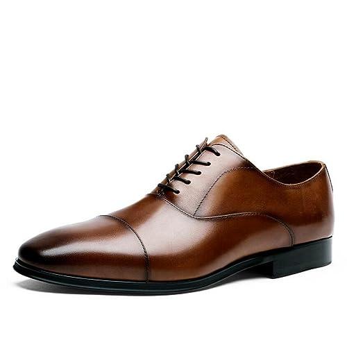 JUNBOSI Hombre Formal/Traje/Zapatos de Vestir/Zapatos de ...
