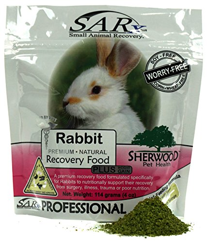 Recovery Food by Sherwood, SARx PLUS for Rabbits - soy-free (compare to 'Critical Care') (114 (Herbs Rabbit Food)