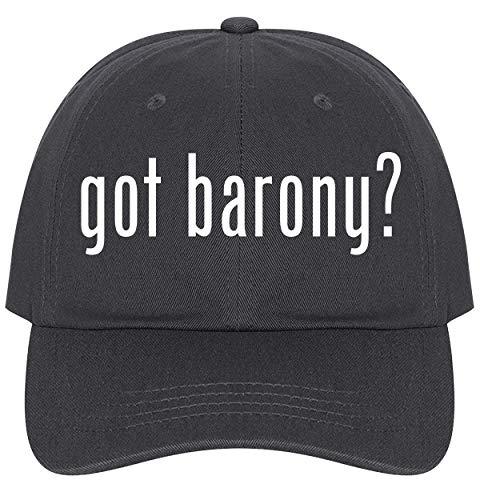 - The Town Butler got Barony? - A Nice Comfortable Adjustable Dad Hat Cap, Dark Grey