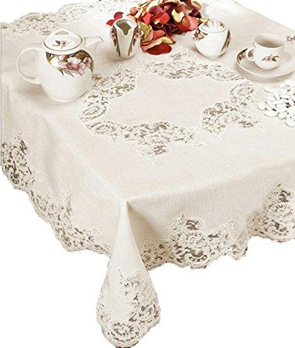 Copri Tavolo Da Cucina.Copritavolo Centrotavola Centro Grande In Puro Lino Per Il Tavolo