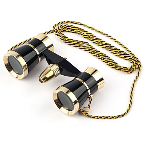 Vintage 3 x 25 Beatiful Classic Binoculars Telescopes Glasses For Theater Opera