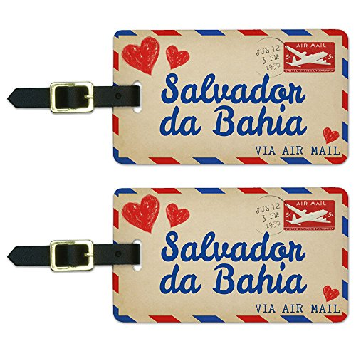 graphics-and-more-air-mail-postcard-love-for-salvador-da-bahia-luggage-suitcase-id-tags-set-of-2
