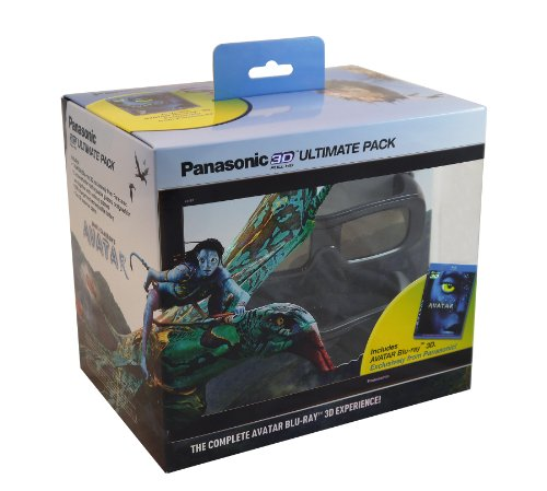 Panasonic TY-EW3D2MMK2 Ultimate 3D Starter Kit (Avatar 3D + 2 Rechargeable Glasses) by Panasonic