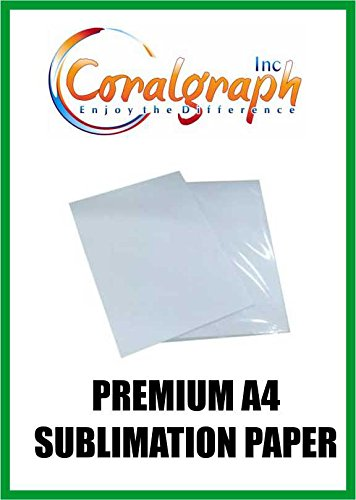 Premium A4 Carta 128 gsm sublimazione Coralgraph Inc
