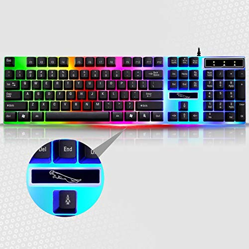 Tastiere, Mouse e periferiche di input G21 Game Luminous Wired USB ...