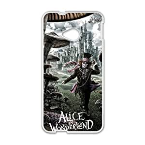 Happy alice in wonderland Phone Case for HTC One M7