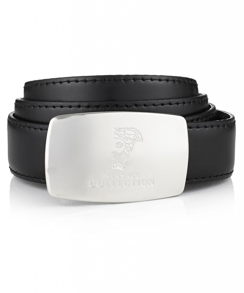 Versace Reversible men Belt, Black/Brown
