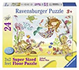 Ravensburger Junior Mermaid 24 Piece Jigsaw Puzzle for Kids – Every Piece is Unique, Pieces Fit Together Perfectly
