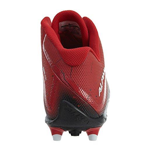 Nike Mens Alpha Pro 2 3/4 Td Tacchetti Da Calcio Gioco Rosso / Bianco / Nero