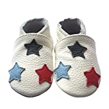 Amurleopard Baby Soft Leather Shoes Infant