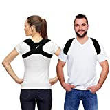 (US) Padded Posture Brace Corrector for Women and Men by CAMP BEN (Med 28-37