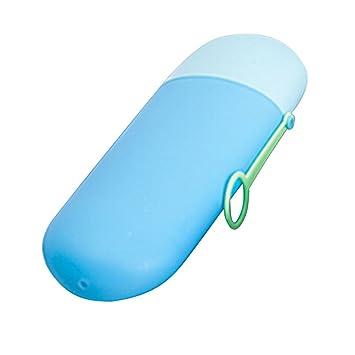 Kit de viaje de cepillo de dientes, funda para el cepillo y la pasta de