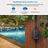 DEWENWILS Outdoor Remote Control Outlet with 2 FT