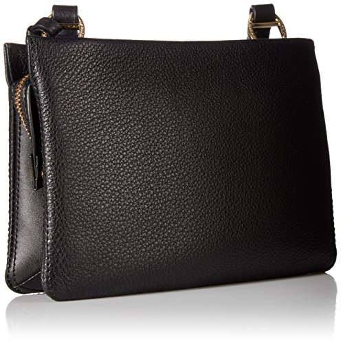 Pebble Gold Holly Klein Black Calvin Crossbody Leather 1HnETHYx