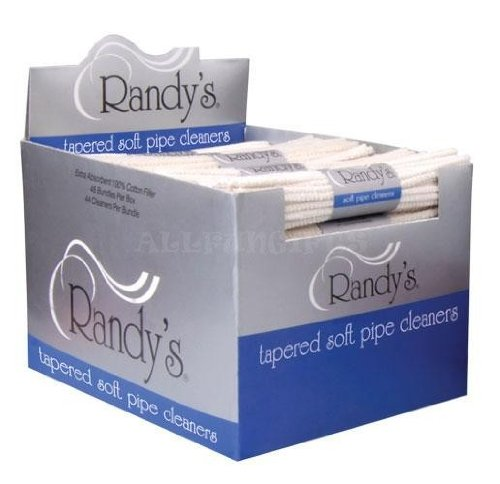 #Cp34 48pk Randy's Tapered Soft Pipe Cleaners Display--48 Pipe Cleaners Per Pack Smoke Smoking Afg Fire Cigar Tobacco Pipe by afgortiha