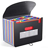 BluePower 26 Pockets Accordian File Folder