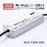 Meanwell HLG-120H-30A Power Supply - 120W 30V 4A - IP65 - Adjustable Output