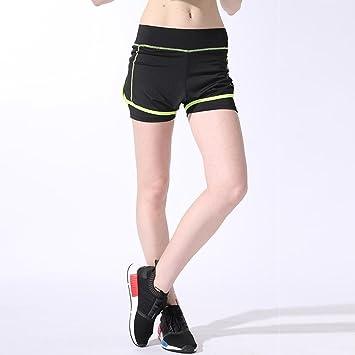 MAYUAN520 Las Mujeres de la Aptitud del Yoga Shorts ...