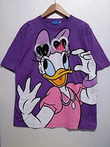 東京ディズニーリゾートデイジーTシャツLL紫の商品画像