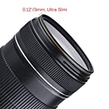 MC UV Filter - Ultra Slim 16 Layers Multi Coated Ultraviolet Protection Lens Filter for Canon Nikon Sony DSLR Lens (67mm)