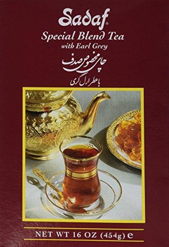 - Sadaf Special Blend Tea 16oz, Black