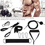 Alomejor-Pulley-Cable-System-Fitness-DIY-Pulley-Rope-Avambraccio-Polso-Blaster-Roller-per-Arm-Strength-Trainer