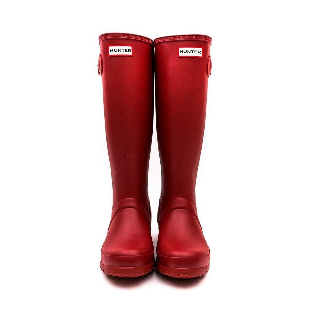 Hunter Women's Original Tall Wellington Boots, Red - 8 UK 42 EU 10 US by Hunter (Image #3)