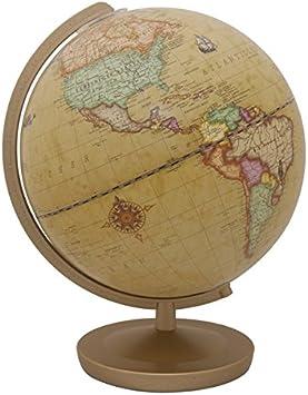 Terra Renaissance 602613Q - Globo iluminado, diametro de 26 cm, color marrón, plástico: Amazon.es: Juguetes y juegos