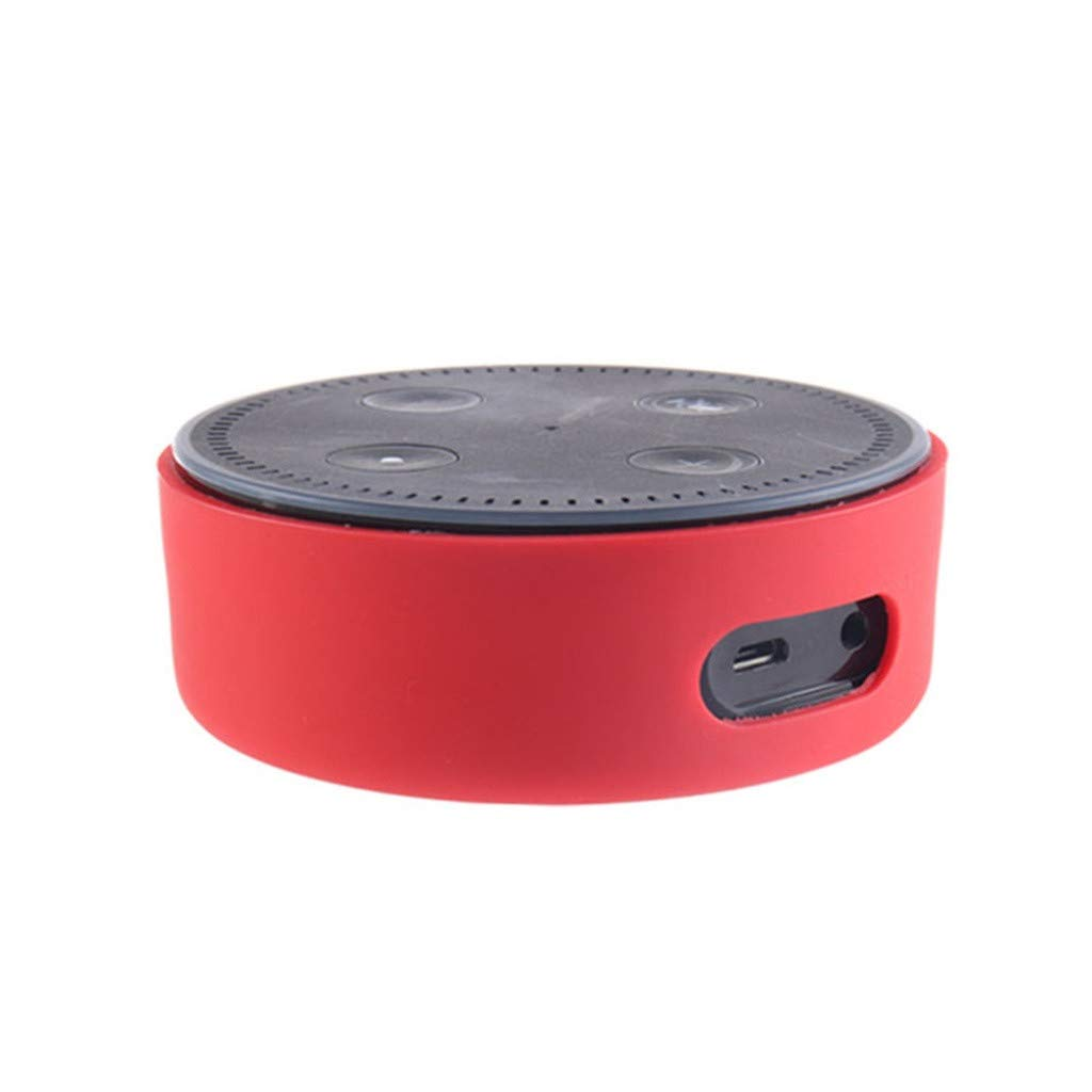 Valentine's Best Gift!!!Kacowpper Silicone Protective Ultrathin Proof Sleeve Case Cover for  Echo Dot 2nd