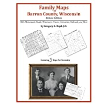 Family Maps of Barron County, Wisconsin