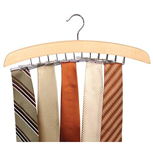 Richards Tie Hanger holds ties