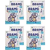 BRAMI Gluten Free, High Protein Vegan Lupini Beans Snack, Sea Salt, 5.3 Oz (Pack of 8)