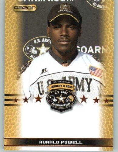 Ronald Powell DE - Rancho Verde High School Moreno Valley CA - 2010 Razor US Army All-American Bowl Promo Football Card (Limited to - Moreno Valley Ca Us