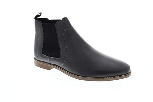 3d1bb31a086 Amazon.com | Ben Sherman Gabe Chelsea Mens Gray Leather Casual Dress ...