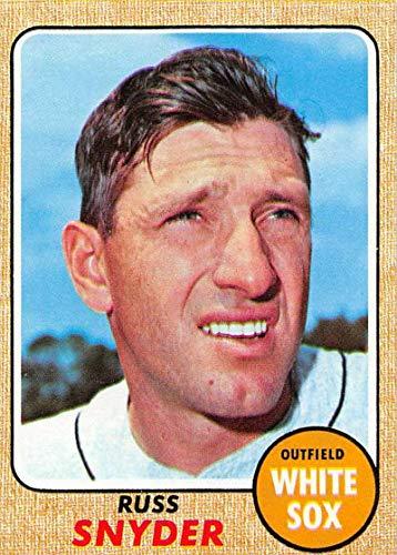 Baseball MLB 1968 Topps #504 Russ Snyder NM White Sox