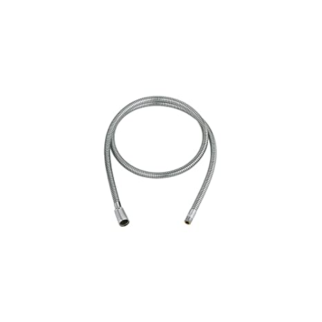grohe 46092000 pull out spray replacement hose starlight chrome rh amazon ca grohe kitchen sink faucet replacement parts grohe kitchen faucet hose repair