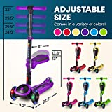 S SKIDEE Scooter for Kids with Foldable and