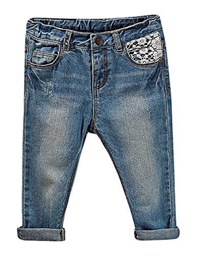 Zipper Pocket Denim Flare Pant - 9