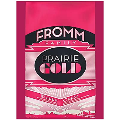 Fromm Family Foods 727075 26 Lb Prairie Gold Puppy Dry Dog Food (1 Pack), One Size