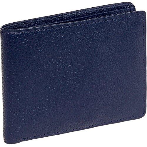 ross-michaels-mens-blue-leather-flip-up-passcase-bifold-wallet