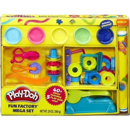 Play-Doh 40 Peices Hands On Party Summer Set Party Hands On Set