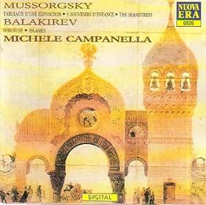 Mussorgsky: Tableaux D'Une Exposition (Pictures at an Exhibition); 5 Souvenirs D'Enfance / The Seamstress / Balakirev: Berceuse; Islamey (Nuova Era)